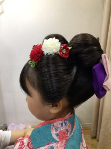 7歳新日本髪